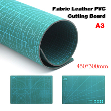 A3 PVC Self Healing Cutting Mat Fabric Leather Paper Craft DIY Tools Double-sided Healing Cutting Board(China)
