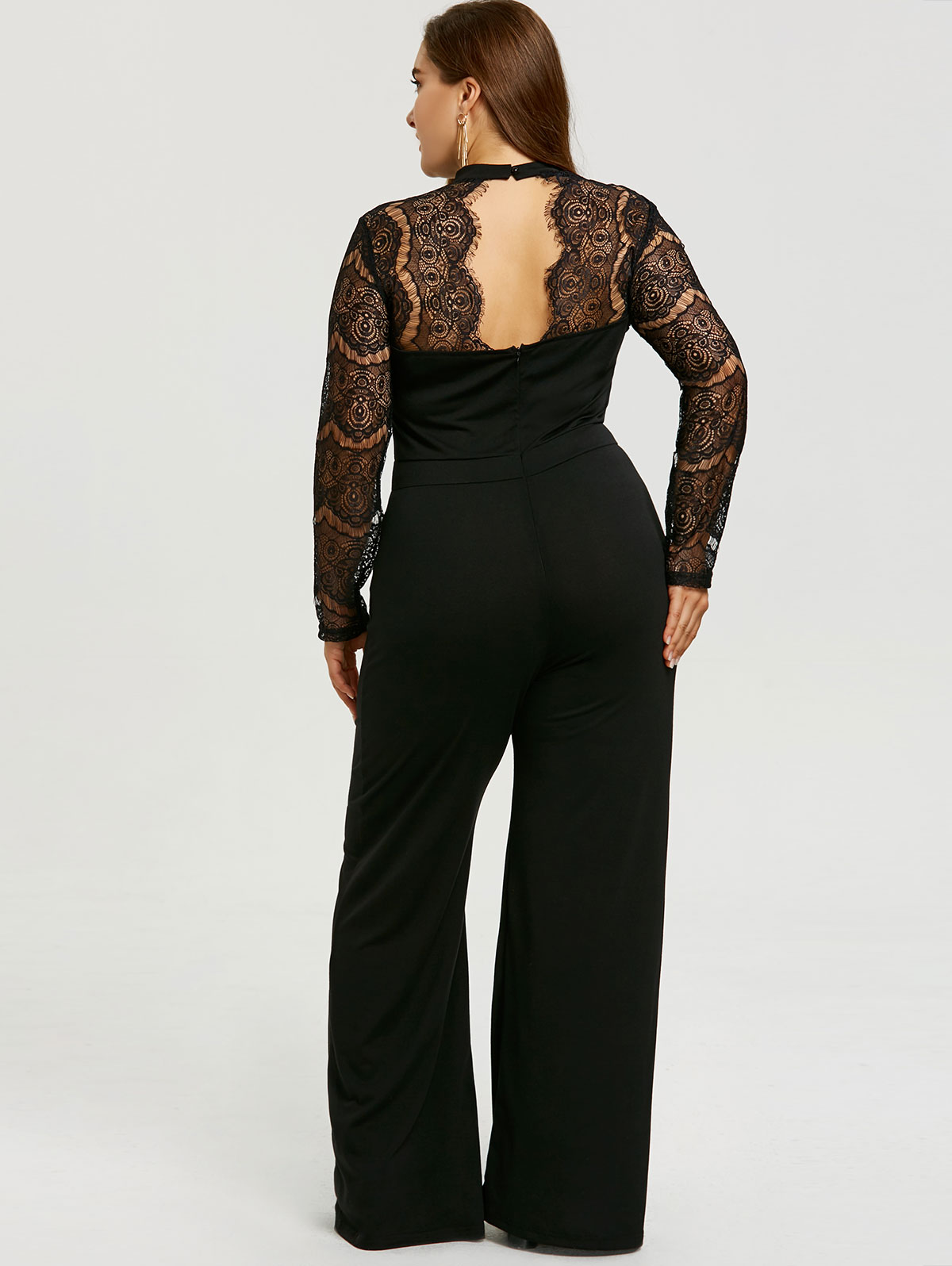 Detail Feedback Questions about Kenancy Plus Size Lace Sleeve Cut ... 7b0755283a6b