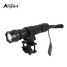 ANJOET 2000 lumens Tactical Flashlight T6 501B Hunting Rifle Torch Shotgun lighting Shot Gun Mount+Tactical mount+Remote switch