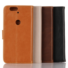 Flip PU Leather Mobile Phone Cases For Huawei Nexus 6P Nexus6P 5.7 Inch American Global Model Covers Bags Horse Pattern Sheaths