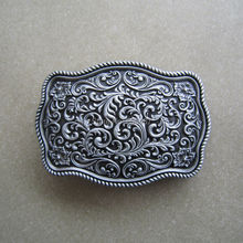 Men Belt Buckle Retail Distribute Belt Buckle Original Western Flower Pattern Belt Buckle Free Shipping BUCKLE-WT142