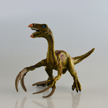 Starz Big Size Hollow Jurassic Therizinosaurus  Plastic Animals Toys Dinosaur Model Action Figures Boys Gift Green Type