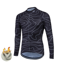FASTCUTE Winter Thermal Fleece Cycling Clothing/Cycling Jerseys ropa ciclismo hombre/Rock Racing Bike Clothing(China)