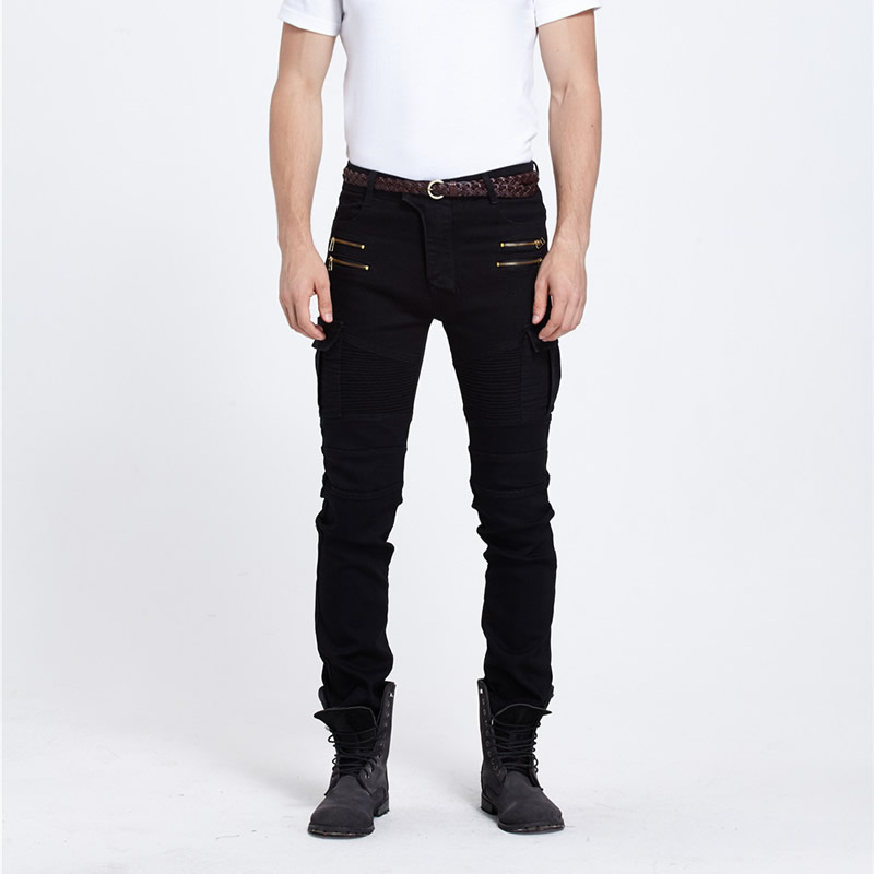 2017 male black skinny jeans mens clothing trend slim small trousers male casual trousers Large size Одежда и ак�е��уары<br><br><br>Aliexpress