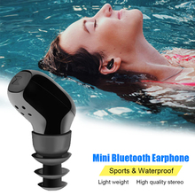Wireless Bluetooth Stereo Business IP67 Waterproof Headset Earphone For Cell phone(China)