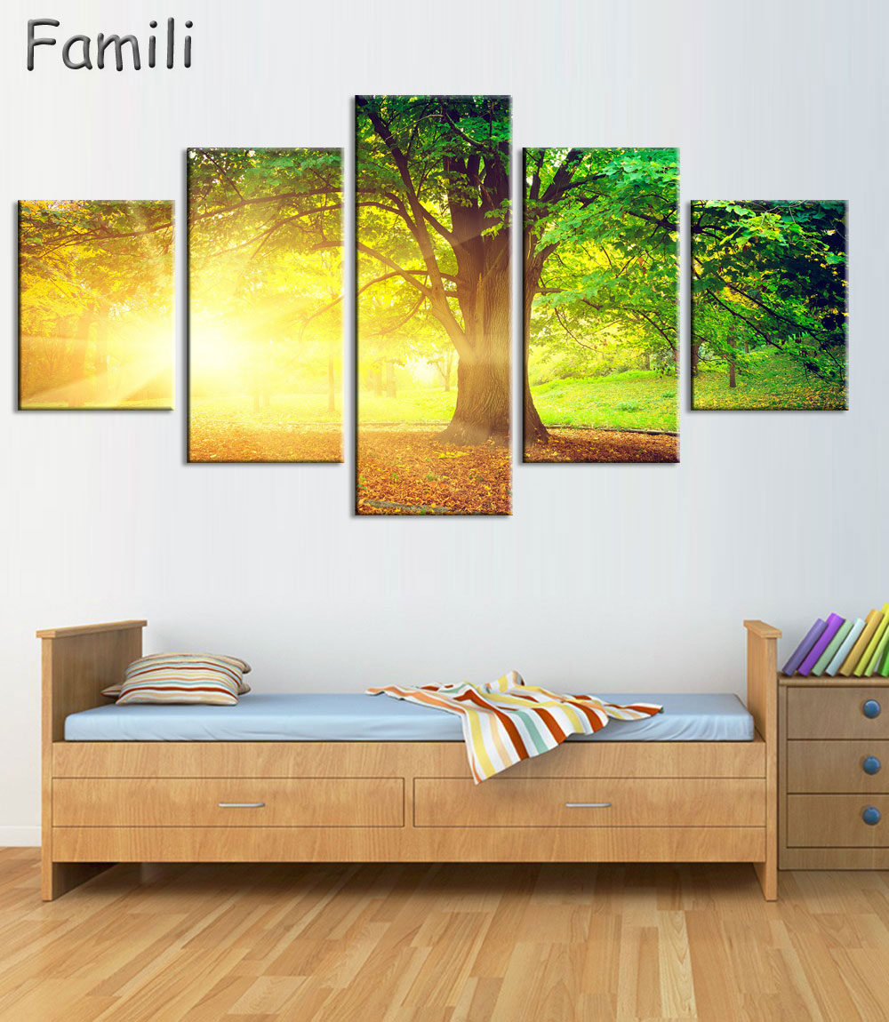 Aliexpress.com : Buy 5PCS Chinese Landscape paintings and china boat ...