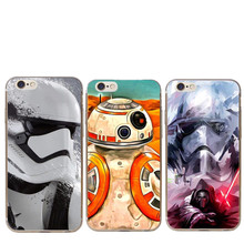 Buy R2D2 BB-8 Star Wars Cool robot HardPhone Case iPhone 5 5s SE 6 6s 6plus 7 7plus Force Awakens iPhone 8 8Plus X Cover for $1.17 in AliExpress store