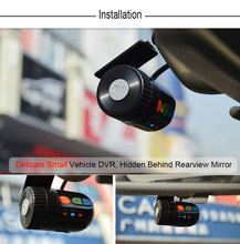 New Mini Car DVR 1080P FHD Night Vision Car Dash Camera Rotatable Lens Vehicle Camera Recorder No Battery inside