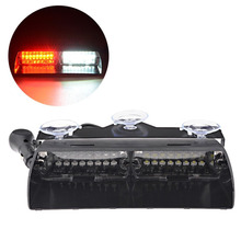 Super Bright 16LED DC12V Viper S2 Signal flashing led warning light Red/Bule/yellow/White Police Strobe Flash emergency Lights(China)