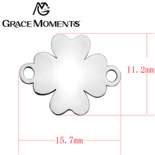 Buy Grace Moments 20pcs/lot 316L Stainless Steel DIY Charms Women Jewelry DIY Jewelry Findings Components Many Different Shapes for $4.71 in AliExpress store