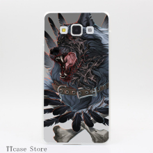 1716CA Heavy metal Transparent Hard Cover Case for Galaxy A3 A5 A7 A8 Note 2 3 4 5 J5 J7 Grand 2 & Prime
