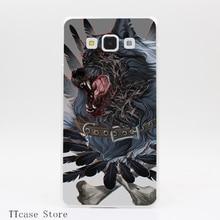 1716CA Heavy metal Transparent Hard Cover Case for Galaxy A3 A5 A7 A8 Note 2 3 4 5 J5 J7 Grand 2 & Prime