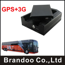 3G Mobile Dvr GPS Car Dvr 4CH Full D1 Real Time Surveillance Truck Dvr(China)