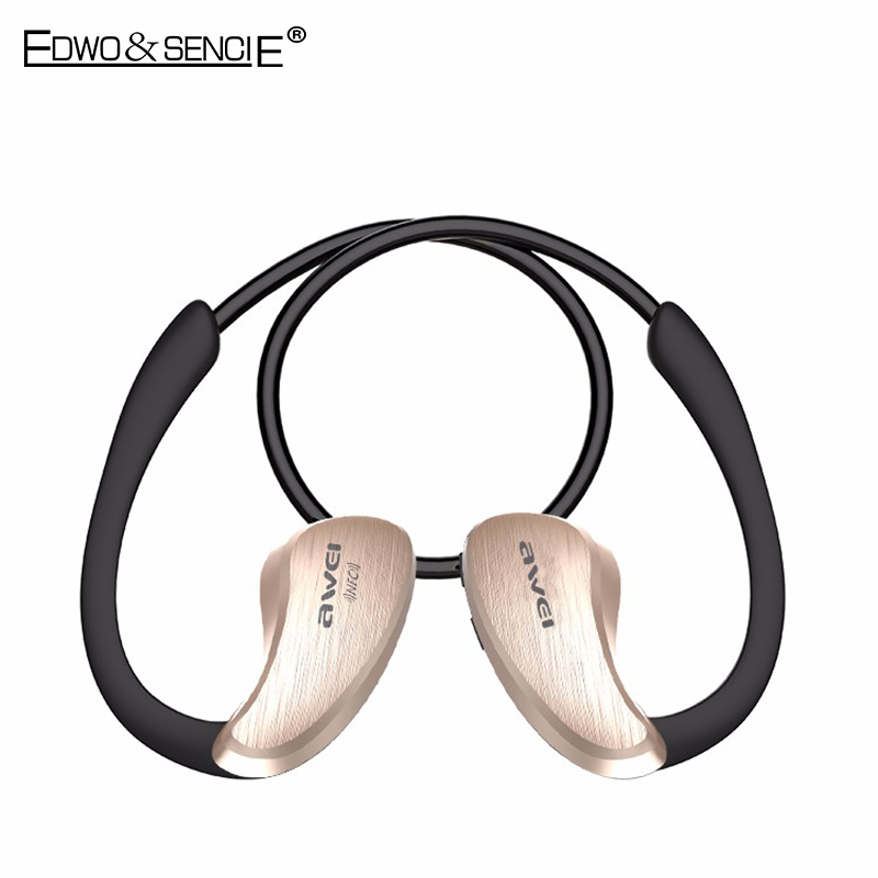 EDWO A885BL For Xiaomi NFC HiFi Waterproof Wireless Bluetooth Headset V4.0 Earphone With Mic Earbuds Voice Control For iPhone 7<br><br>Aliexpress