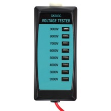 all-sun GK503C Electric Fence Voltage Tester 2000V to 9000V Fence Controller No Battery Voltage Tester with Neon Lamp(China)
