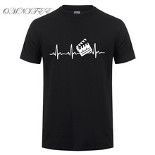 New Summer Fashion Film Director T Shirt Men Short Sleeve Cotton Heartbeat Clapperboard T-shirt Tops Man Tshirt Camisetas OT-822