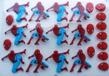 Spider hero Transfer food chocolate chocolate transfer paper transfer sheet birthday cake baking mold