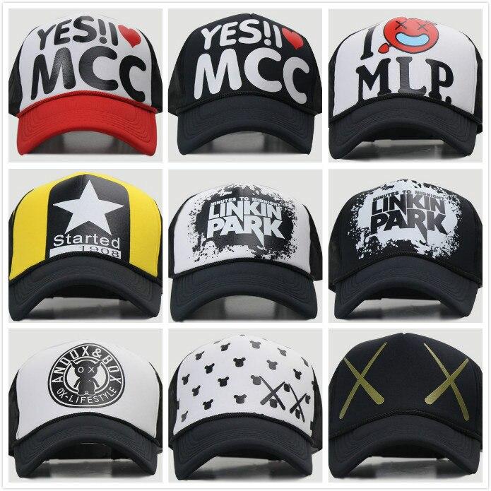 New 2016 Basketball Caps Linkin Park Mesh Caps Hip Hop Sport Snapback Caps Hats Street Dancer Caps<br>