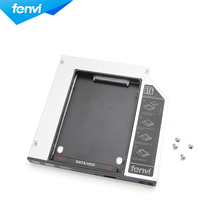 Fenvi Brand NEW SATA 2nd HDD caddy adapter 9.5mm PATA/IDE DV23 SSD Case Enclosure For Laptop CD DVD Optical Drive Bay(China)