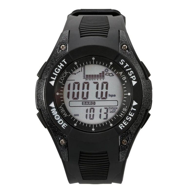 SUNROAD FX702A1 Men Watch- Waterproof Digital Fishing Barometer Altimeter Thermometer Digital Sport Clock Black<br><br>Aliexpress