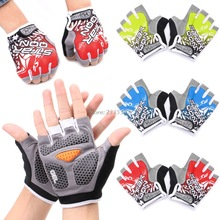 GEL Cycling Gloves Bike sport Gloves Bicycle Half Finger Gloves shockproof