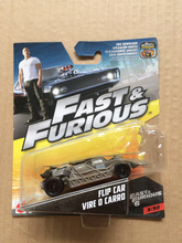 New Arrivals Hot Wheels 1:55 fast and furious flip car vire o carro Diecast Car Models Collection Kids Toys Vehicle For Children(China)