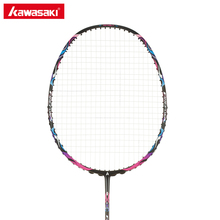 Kawasaki Professional Carbon Badminton Racket 4U Racquet with String Ball Control Type Rackets for Beginners Firefox S720(China)
