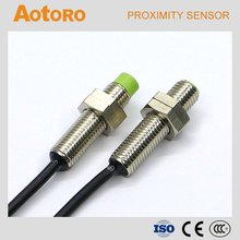 China switch FR08-2DN M8 NPN 3wires proximity products human detect sensor