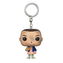 Stranger Things Eleven and Flower Vinyl Action Figures Rick And Morty Children Toy Keychain(China)