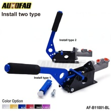 AUTOFAB - Universal Racing Hydraulic Drift E-Brake Handbrake Vertical Horizontal Grip For Honda Accord 98-02 AF-B11001