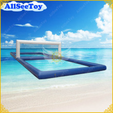 Inflatable Water Volleyball Court for Aqua Game in Sea or Swimming Pool,Air Pump Included