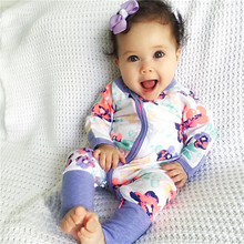 Newborn Baby Boy Girl Clothes Floral Baby Romper Long Sleeve Bebes Rompers Jumpsuit 6 9 12 18 24 Months Baby One Piece Outfit