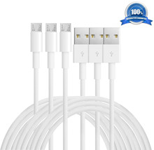 3PCS Pack Best Micro USB2.0 Interface Charger Cable 1M Charging Sync Data Cable for Samsung Cellphone MP3 players #S