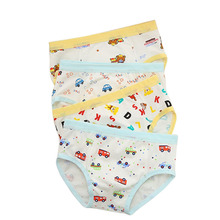 12Pcs/lot Boys Underwear Cartoon Car Pattern Children's Pants Modal Kids Boxer Underpants Briefs Baby Boys Underware(China)