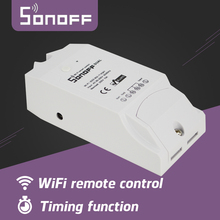 Newest Sonoff Smart Switch Wireless WiFi Smart Home Automation Switch Module Remote Control Via Smartphone For Sonoff Dual