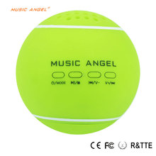 Wireless Bluetooth Speaker with tennis ball handmade 12 Hours Playtime Desktop Devices sporting for Indoor/Outdoor/Shower Usage