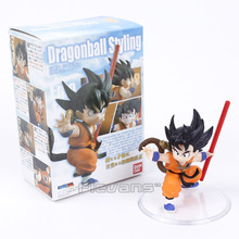 Dragon Ball Z Styling Child Son Gokou Goku Childhood ver. PVC Figure Collectible Model Toy 8cm