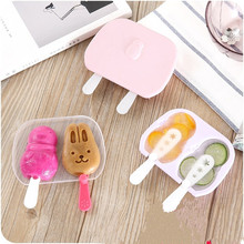 Kid DIY Ice Cream Mould Cream Tools Creative Ice Cream Maker Ice Popsicle Molds Yogurt Ice Box Fridge Treats Freezer Hot Sale(China)