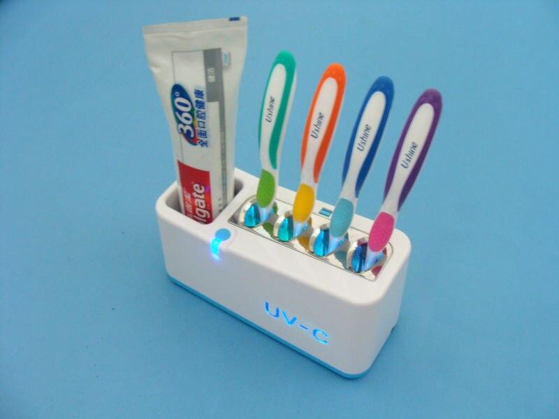 Housewarming Gift UV-C lamp ultra violet light kill bacteria germ TB-3 UV toothbrush sanitizer<br>
