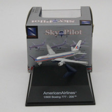 American Airlines 1:900 Boeing 777-200 tm Aircraft Sky Pilot Diecast Models(China)
