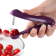 Hot Nordic Cherries Creative Kitchen Gadgets Tools Pitter Cherry Seed Tools Fast Enucleate Keep Complete Creative Tools(China)