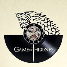 Game of Thrones Dagon Vinyl Record Wall Clock - Decorate your home with Modern Movie Art - Best gift for man, woman, boyfriend a