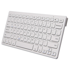 Air World 098-1 portable Bluetooth keyboard white chocolate buttons tablet / phone /notebbok pc keyboard
