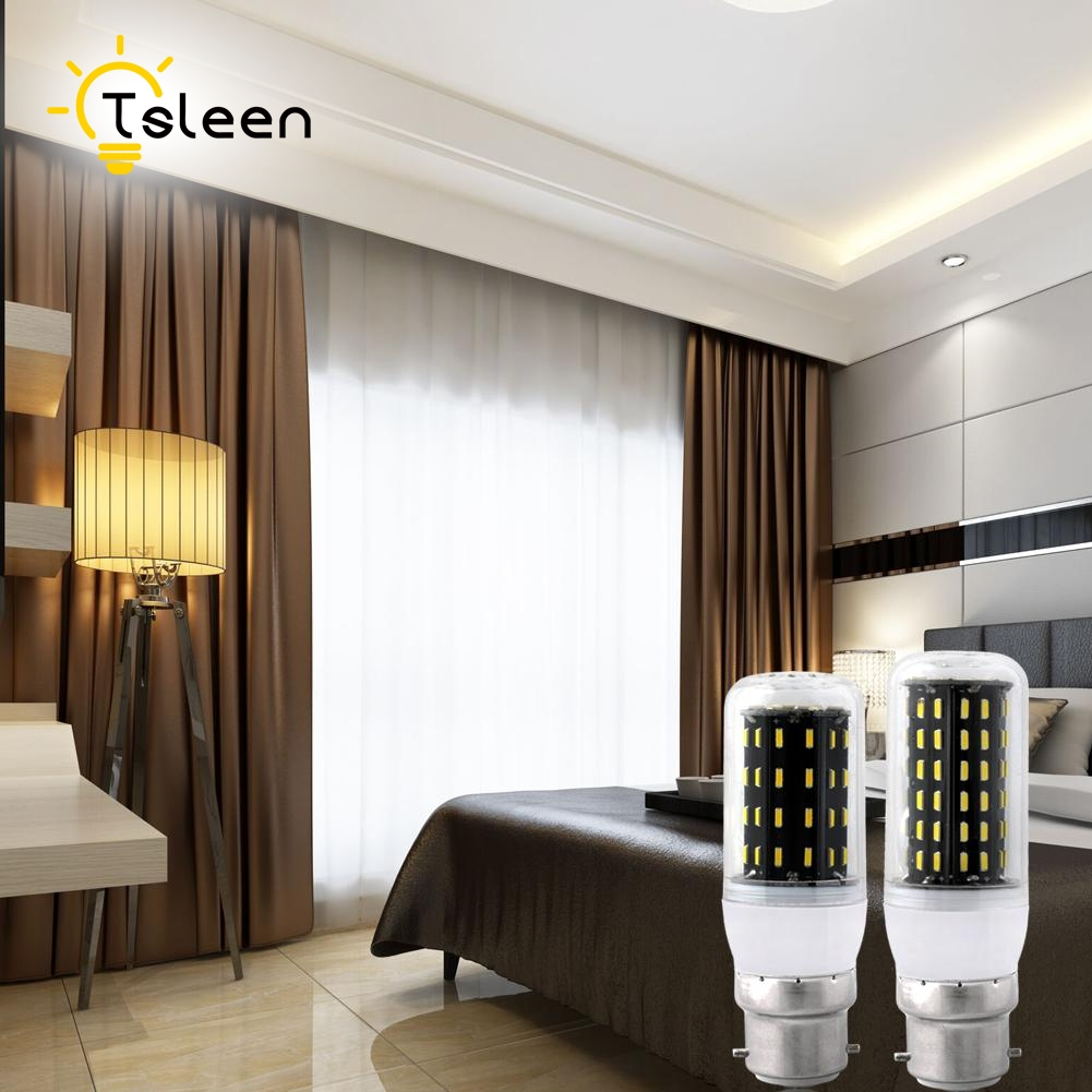 TSLEEN 5x Real Watt 12W 18W 25W 30W 35W E27 E14 LED Corn Bulb AC220V SMD4014 B22 G9 GU10 LED Lamp Spot Light 36/56/72/96/138 LED(China)
