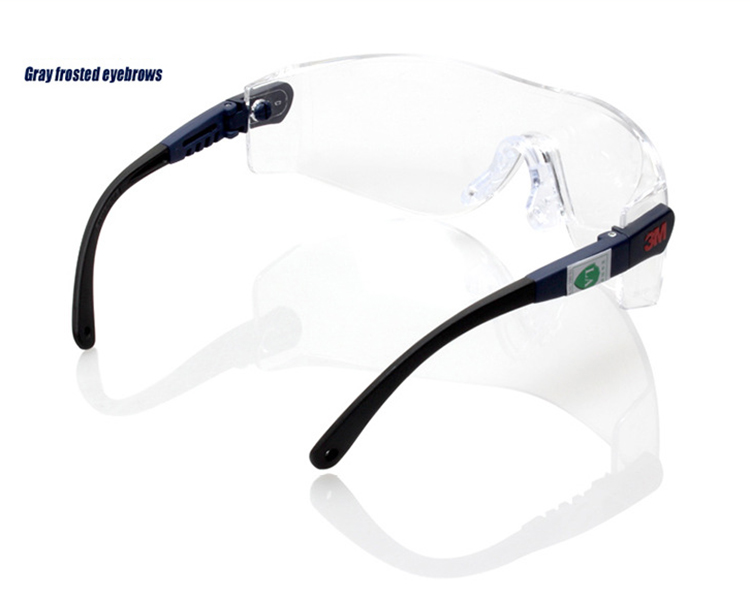 Facility Maintenance & Safety 3m 10196 Protective Eyewear Clear Anti-fog Lens Windproof Sand Laboratory Safety Matching In Colour Glasses, Goggles & Shields