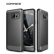 CONNICS Note 3 4 5 Phone Case For Samsung Galaxy S6 S7 / Edge S8 / Plus Rugged Rubber Dual Layer Hard PC S4 S5 J5 J7 Back Cover