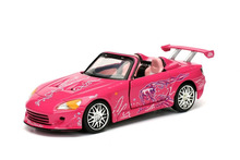 Jada 1:32 FAST AND FURIOUS 8 F8 PINK SUKI'S 2001 HONDA S2000 Diecast Model Car Toy New In Box Free Shipping