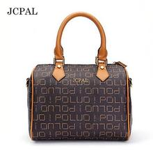 Fashion Free Shipping DHL top-quality speedy handbag 30 NO STRAP monogram real oxidation canvas women tote bag(China)