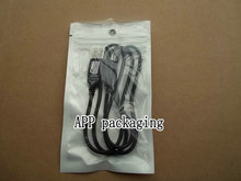 9*16cm Clear white plastic zipper lock beat light retail package bag, poly pp bag  USB Cable packing bag pack bag