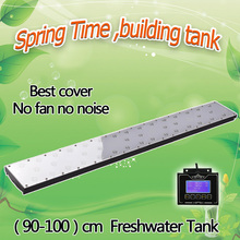 "Dimmable timer 36"" 90cm 3ft Programmable led light for freshwater fish plant tank smart controller lighting,sunrise sunset lamp(China)"
